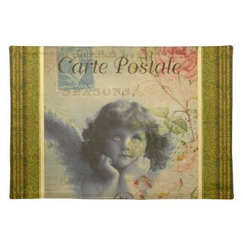 French Postcard Placemat