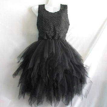 Little Black Dress Lace Dress Party Prom Dress Sweet by midress