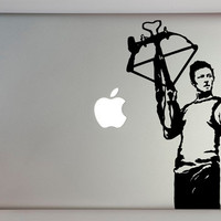 Walking Dead Inspired Daryl Dixon Decal Macbook Laptop