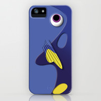 Dory the Ornamental Blue Fish Disney finding nemo apple iPhone 3, 4 4s, 5 5s 5c, iPod & samsung galaxy s4 case cover