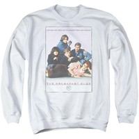 Breakfast Club - Bc Poster Adult Crewneck Sweatshirt