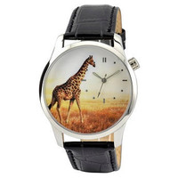 Giraffe Watch by SandMwatch on Etsy
