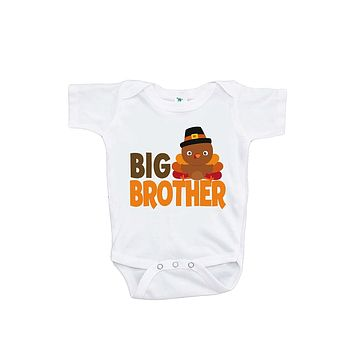 Custom Party Shop Baby Boy's Big Brother Thanksgiving Onepiece
