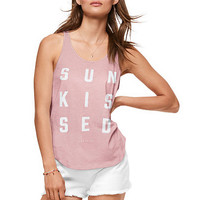 Scoop Back Tank - PINK - Victoria's Secret