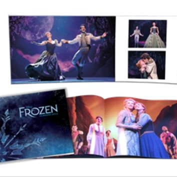 Frozen The Musical Souvenir Program