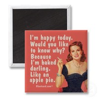 baked darling fridge magnets