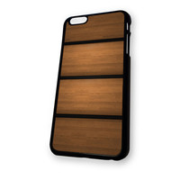 Wood Stripe iPhone 6 Plus case