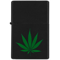 Pot Leaf Refillable Lighter