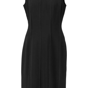 Iris and Ink Valentina paneled crepe dress – 0% at THE OUTNET.COM