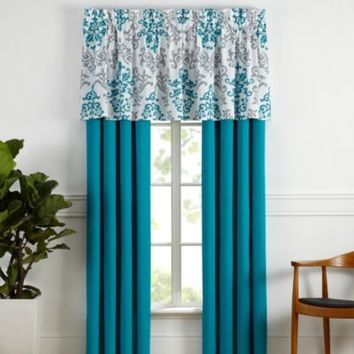 Carina Window Valance in Turquoise