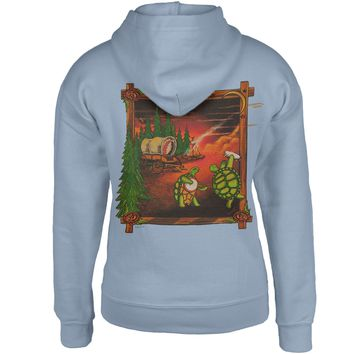 Grateful Dead - Covered Wagon Terrapins Light Blue Youth Hoodie - Youth Small