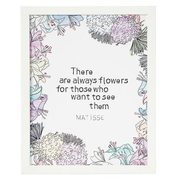 There Are Always Flowers | Henri Matisse