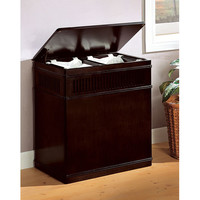 Coaster Furniture 900159 Cappuccino Laundry Hamper