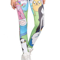 Adventure Time Character Leggings Pre-Order | Hot Topic