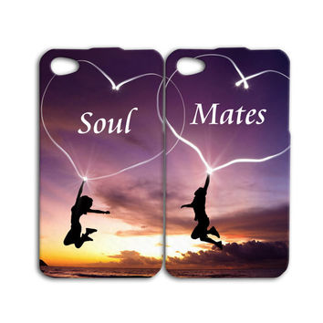 Best Friends Case Soul Mates Case Cute iPod Case iPhone 4 Case iPhone 5 Case iPhone 4s Case iPhone 5s Case iPod Case iPod 5 Case iPod 4 Case