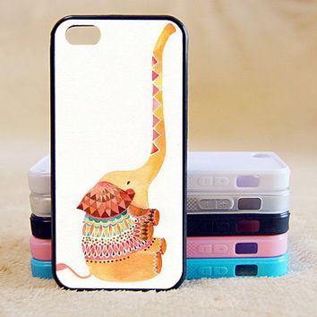 Little elephants,Cute elephant,Custom Case, iPhone 4/4s/5/5s/5C, Samsung Galaxy S2/S3/S4/S5/Note 2/3, Htc One S/M7/M8, Moto G/X