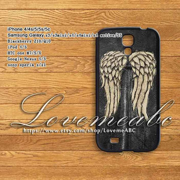 daryl dixon the walking dead,samsung galaxy s3/s3mini/ S4/ S4 mini/s4 active/s5 case,samsung galaxy note 2/note3,iphone 4/4s/5/5s/5c,Z10/Q10