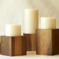 Soy Pillar Candles : Branch: Sustainable Design for Living