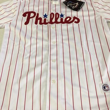 PHILADELPHIA PHILLIES  CHASE UTLEY #26 YOUTH MLB JERSEY SHIPPING