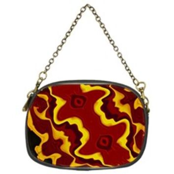 Tribal Summer Nightsdreams Pattern Chain Purse (Two Sided)