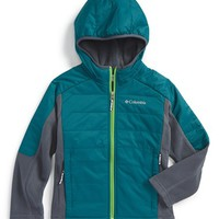 Boy's Columbia 'Fast Trek' Omni-Shield Hybrid Jacket