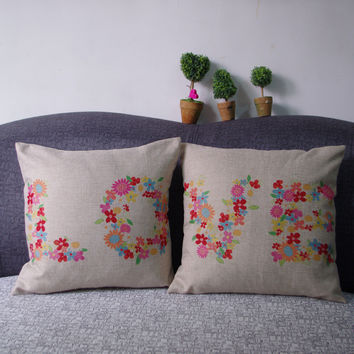 Home Decor Pillow Cover 45 x 45 cm = 4798374276