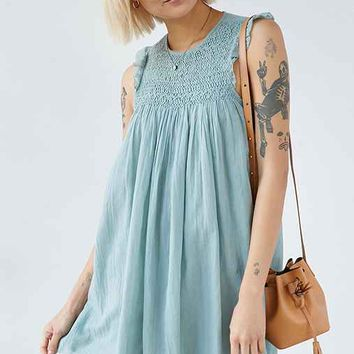 Kimchi Blue Mindy Loo Smocked Yoke Dress