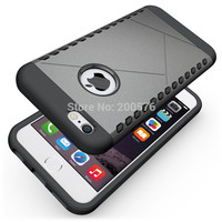 TPU&PC Heavy Duty armor Shield case For iPhone 6 case For iPhone 6S case 4.7 inch Protective Skin Double Color Shock Prooffor #1