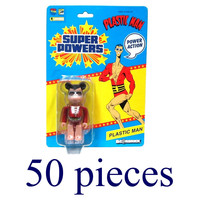 Plastic Man Super Powers Bearbrick Exclusive Action Figure - Case of 50