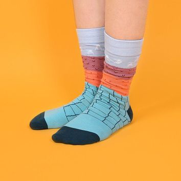 Geology Socks