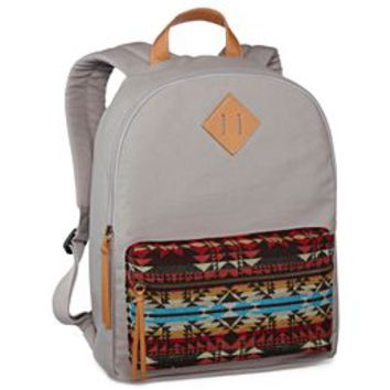 Arizona Backpack w/ Tribal-Print Pocket