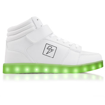Bolt - High Top LED Shoe