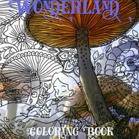 Alice in Wonderland All Ages Fantasy Coloring Pages Book Pack for Adults