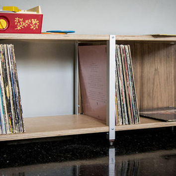 CSSU-LP2 (bench) // 12in LP record album storage