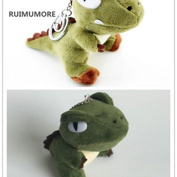 2Different Sizes , Kawaii 7-10CM Approx. Dinosaur Dragon Plush Stuffed Toy , Key Chain Plush Dragon Stuffed animal toys Dolls