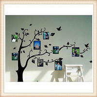Black Tree Frame Memory Tree Wall Decal Wall Sticker Home Decal Home Sticker