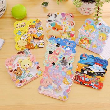 50pcs/pack Japan Kawaii Cartoon Animal friends sticker pack hot sell deco Diary stickers Nice gift office school supplies