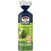 Quaker® Apple Cinnamon Rice Cakes, 6.53 oz. Bag - Walmart.com