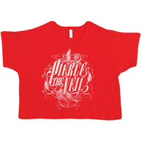 Pierce The Veil  Logo Girls Jr Red Rockabilia