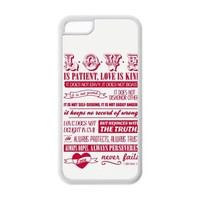 diycover Bible Verse iPhone 5C Case Hard Case Cover Protector Gift Idea
