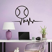 Baseball Wall Decal Sport Game Ball Interior Design Home Vinyl Sticker Decals Kids Nursery Baby Room Decor C602