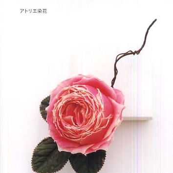 Fabric Corsage Pattern by Atelier Senka - Corsage and Boutonniere - Japanese Craft Book for  Flower Corsages, Wedding , Prom Corsage - B408