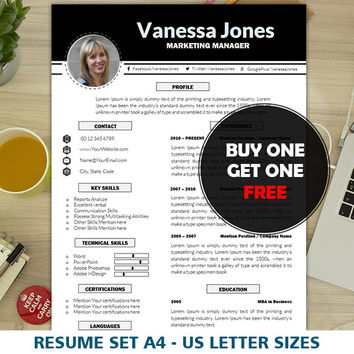 Resume Templates   CV Template   Simple & Clean Resume   Resume with Photo   1, 2 Pages Resume Word   Creative   Professional   Modern   Mac