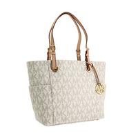 MICHAEL Michael Kors MK Logo East/West Signature Tote Vanilla - Zappos.com Free Shipping BOTH Ways