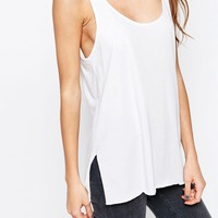 ASOS Cotton Jersey Vest