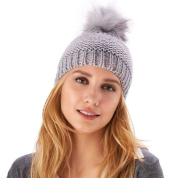 Metallic Knit Hat | 3 Assorted Colors