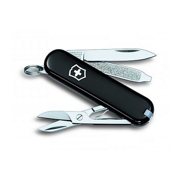 VICTORINOX CLASSIC SD SWISS ARMY KNIFE POCKET KEYCHAIN SMALL MINI MINIATURE TINY BLACK