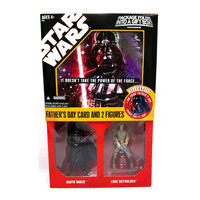 I Am Your Father's Day Star Wars Saga Collection Card Exclusive Action Figures