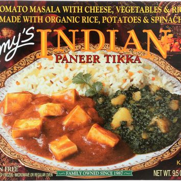 AMY'S: Indian Paneer Tikka, 9.5 oz