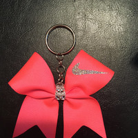 Nike cheer bow keychains!!! Many COLORS! Match your bow.!